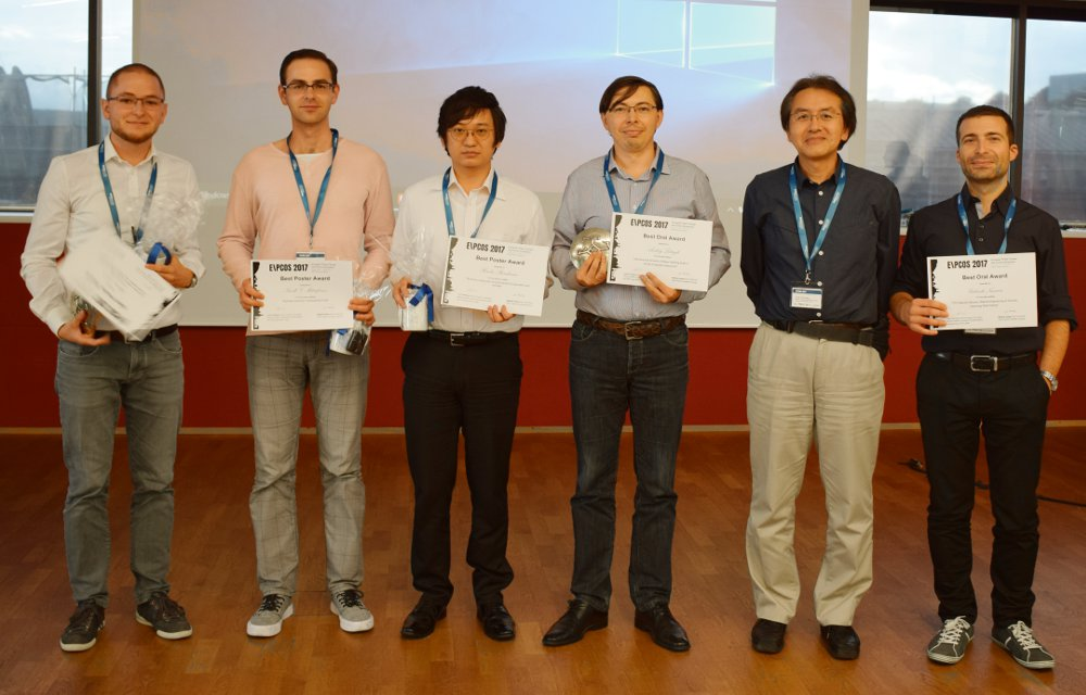 Poster and Talk Prizes EPCOS 2017
